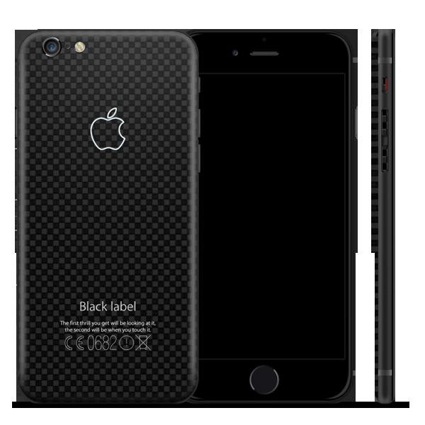 iPhone из карбона — Black Label