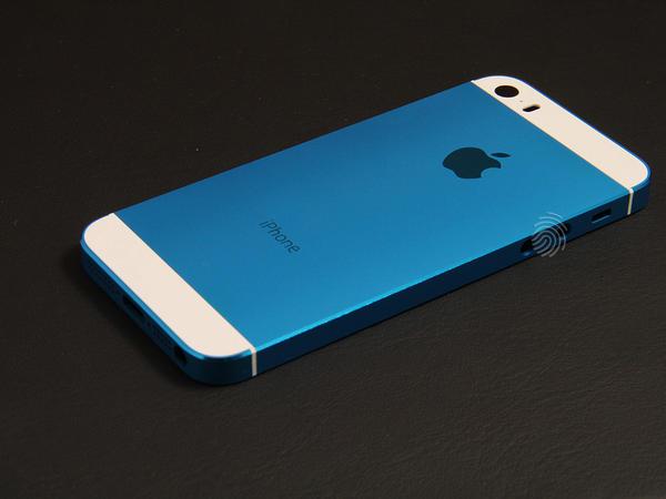 Темно-синий корпус для iPhone 5s