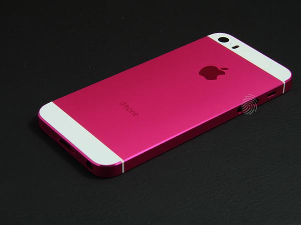 Розовый корпус для iPhone 5s