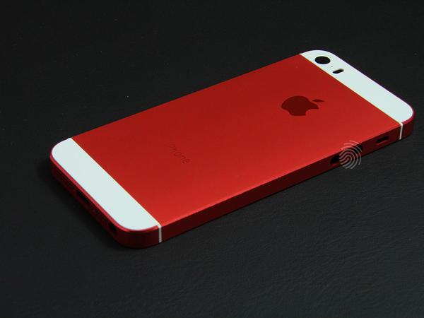 Красный корпус для iPhone 5s