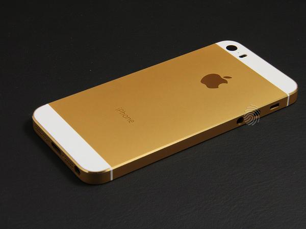 Золотой корпус для iPhone 5s