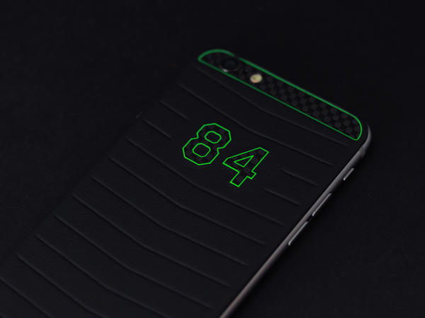 iPhone 6 Green stripes 84