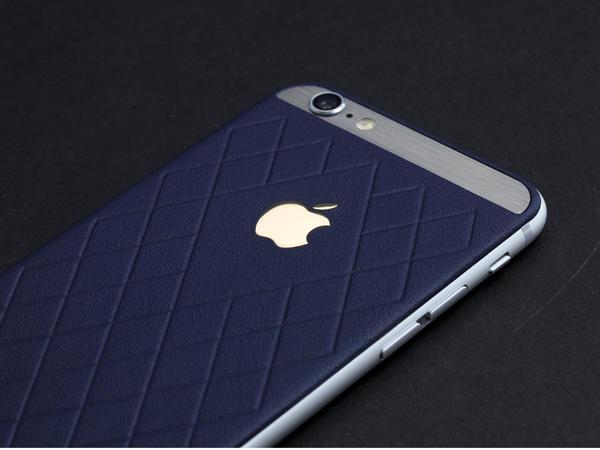 iPhone 6 из синей кожи