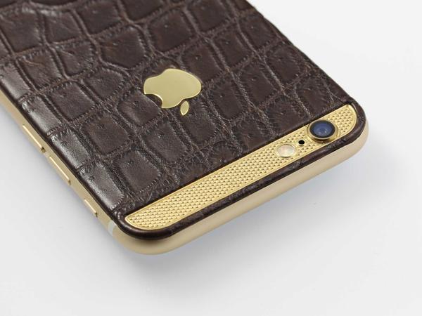 iPhone 6 из кожи крокодила