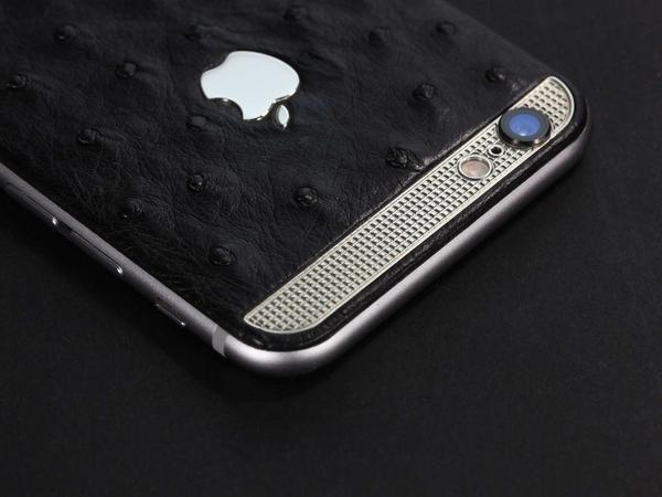 iPhone из кожи страуса