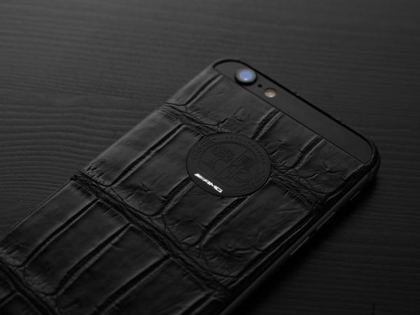 Black Mercedes-Benz iPhone 6