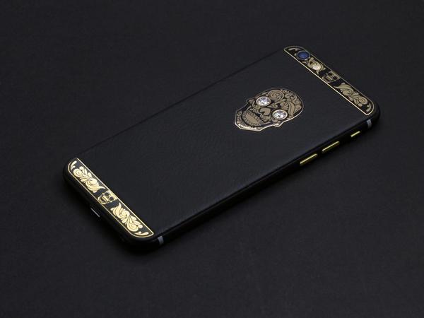 iPhone 6 Gold skull, Individual