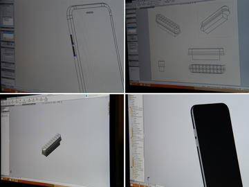 Дизайн и проектирование кнопок для модели Royal