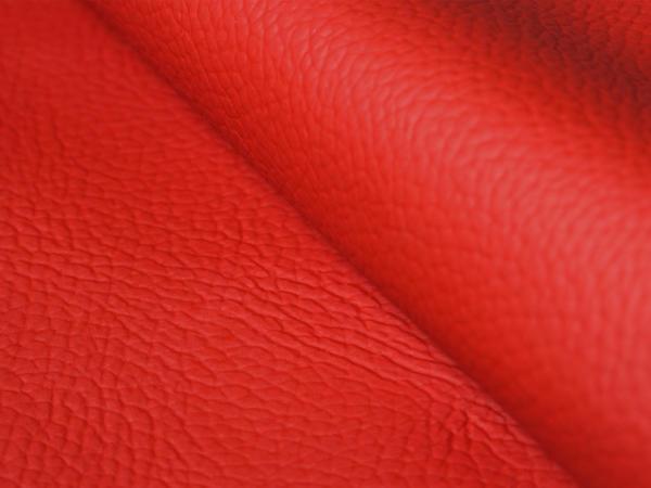 Текстурированная кожа, красная