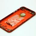 Красный корпус для iPhone 6 с черными антеннами