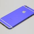 Синий корпус для iPhone 6 с белыми антеннами