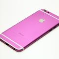 Фиолетовый корпус для iPhone 6 с белыми антеннами