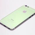 Зеленый корпус для iPhone 6 с белыми антеннами