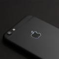 Черный корпус для iPhone 6s с контурным светящимся логотипом Apple