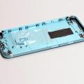 Голубой корпус для iPhone 6s с белыми антеннами