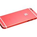Красный корпус для iPhone 6s с черными антеннами
