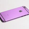 Фиолетовый корпус для iPhone 6s с черными антеннами