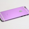 Фиолетовый корпус для iPhone 6s с белыми антеннами