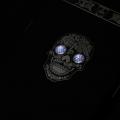 Череп со светящимися глазами