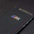 iPhone обтянут кожей Наппа, панели из карбона, логотип из кованной стали