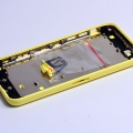 Желтый корпус для iPhone 5c