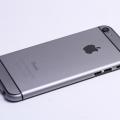 Серый корпус для iPhone 5 в стиле iPhone 6