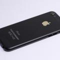 Черный корпус с золотыми элементами для iPhone 5s в стиле iPhone 6