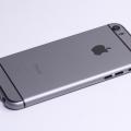 Серый корпус для iPhone 5s в стиле iPhone 6