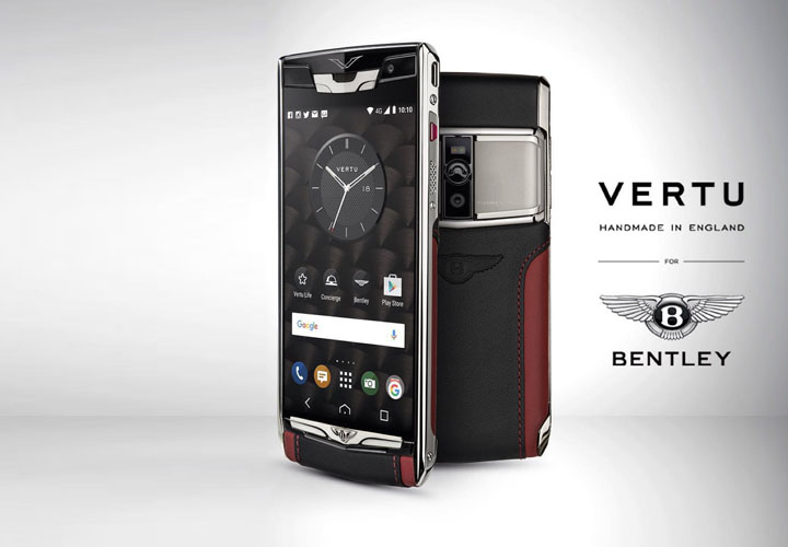Vertu Signature Touch 2015 for Bentley