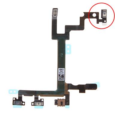 Не работает верхняя кнопка iPhone 5