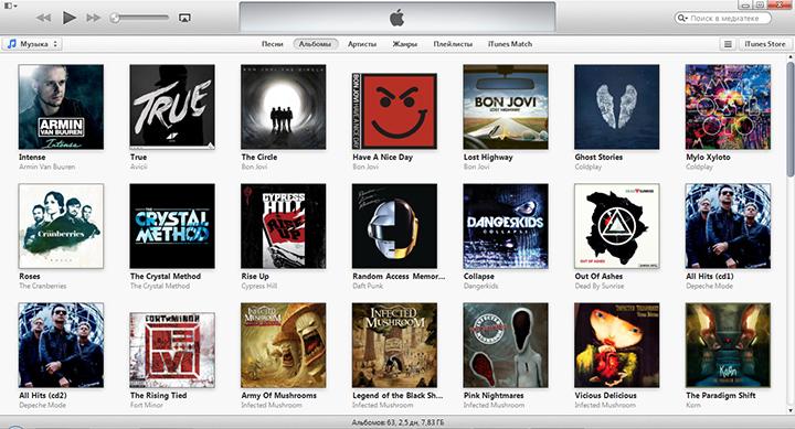 Зайти в приложение iTunes на настольном компьютере и перейти в раздел iTunes Store