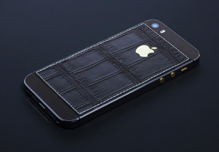 iPhone из кожи крокодила — модель Royal