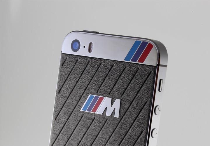 iPhone из кожи в стиле BMW M