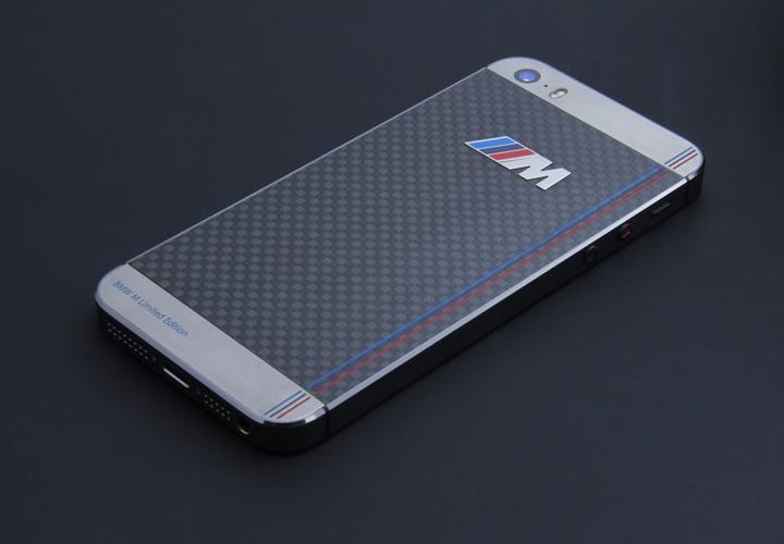 iPhone из карбона в стиле BMW M