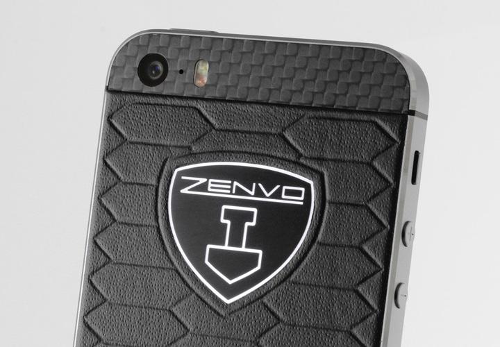 iPhone Zenvo с панелями из сухого карбона