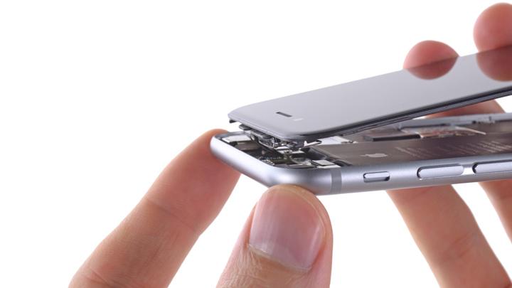 Замена разговорного динамика iPhone 6 и iPhone 6 Plus