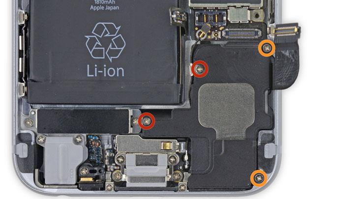 Замена основного динамика на iPhone 6 и iPhone 6 Plus
