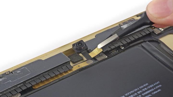 Замена фронтальной камеры на iPad Air 2