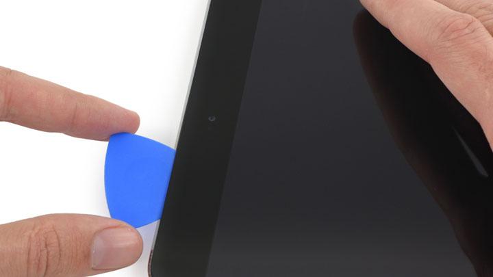 Замена передней панели с кнопкой Home в сборе на iPad Mini 3