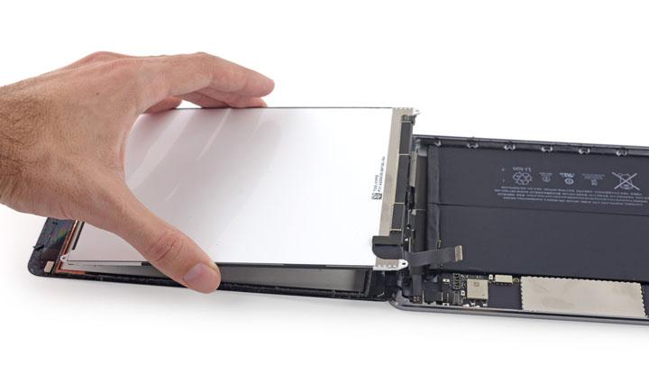 Замена левого динамика на iPad Mini 3