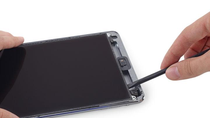 Замена кнопки питания на iPad Mini 3
