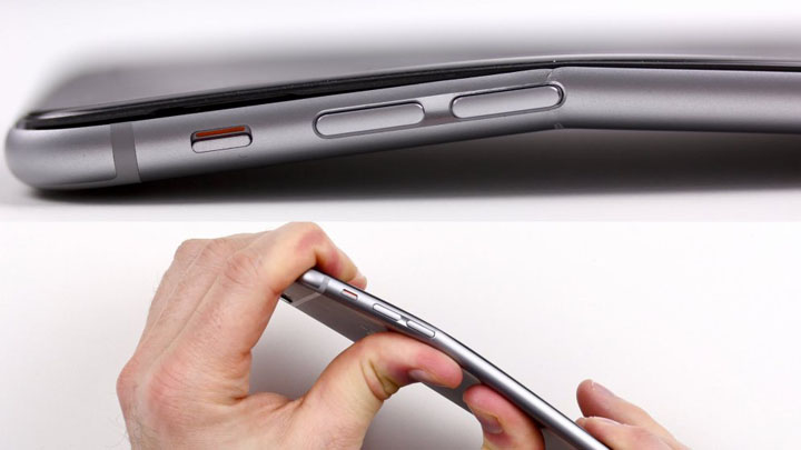 Изгиб iPhone