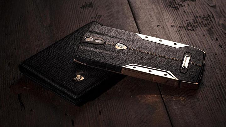Корпус мощного люксового смартфона Tonino Lamborghini 88 Tauri