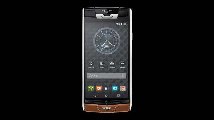 Vertu Signature Touch for Bentley