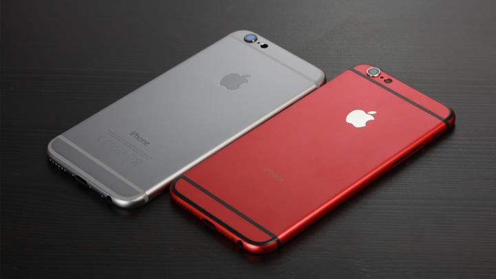 Общий внешний вид оригинального корпуса для iPhone 6 и неоригинального снаружи