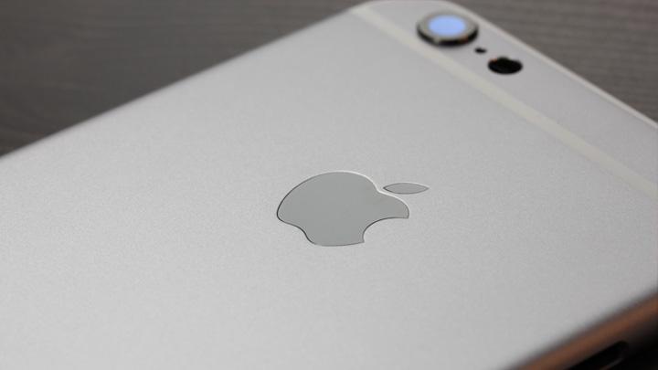 Логотип Apple в оригинальном корпусе для iPhone 6 и неоригинальном