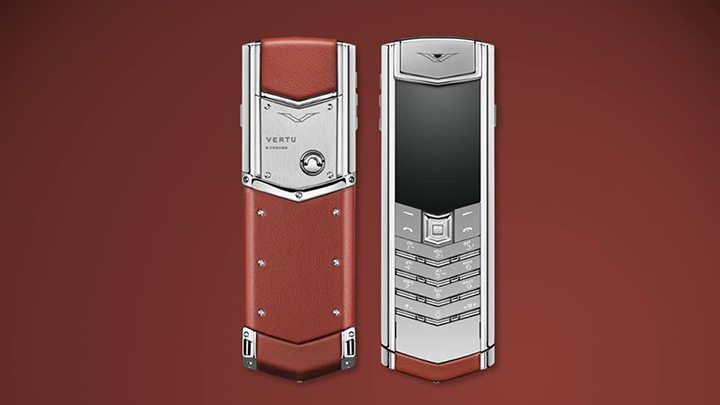 Vertu Signature S Red Calf — дань британским традициям дизайна и качества
