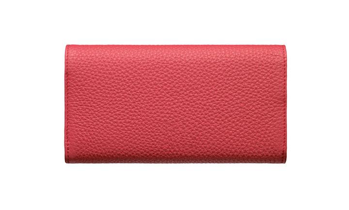 Чехол-сумка из кожи карунга цвета «Румянец»