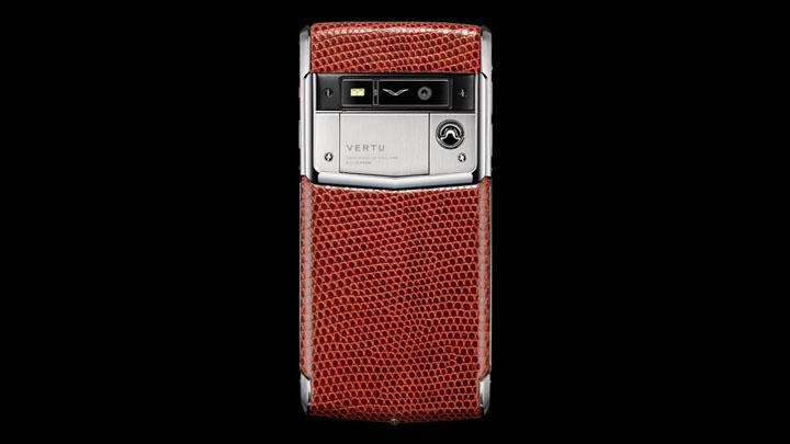 Vertu Signature Touch Dark Scarlet Lizard — драматическое устройство для коллекционера