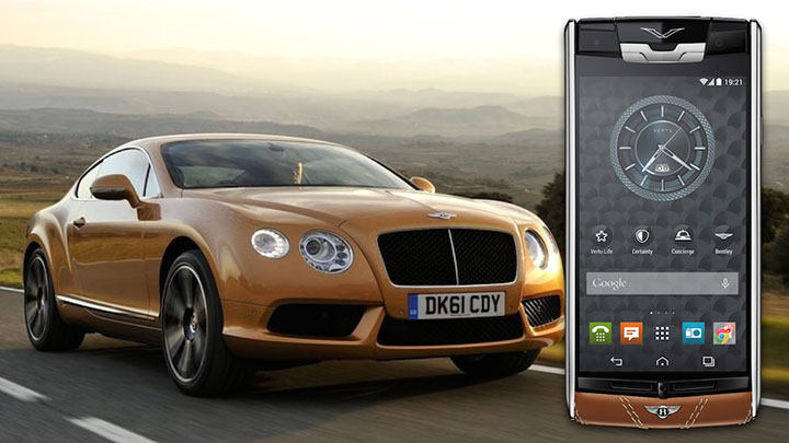 Эксклюзивное программное обеспечение Vertu for Bentley